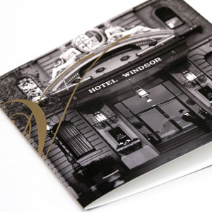 The Hotel Windsor Brochure design moko creative