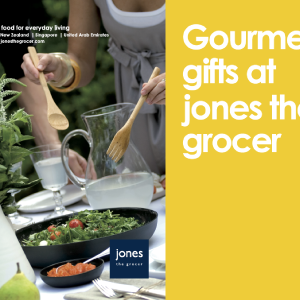 Jones the grocer hamper brochure